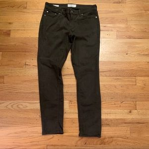 Lucky brand green jeans